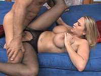 Cute Busty Blond Alanah Suck and Fuck