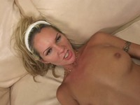 Blonde Babe Fucked at Work
