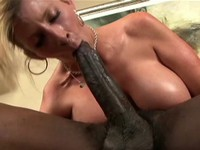 Big White Ass for Big Black Cock
