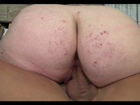 Huge Tits Bbw Brunette Likes Big Cock