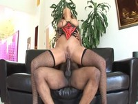Big Black Cock For Busty Brunette Milf