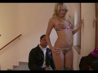 Hot Euro Blond Denisa Jerks His Cock