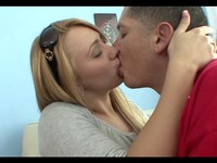 Big Butt Teen Blonde Fuck and Facial