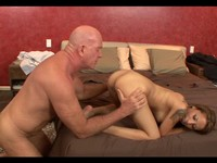 Sexy Gia Fucks an Older Bald Stud