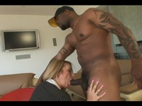 Blond Milf Aline Ass Fucked By B.B.C.