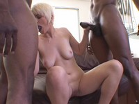 Cute Blond Ass Fucked By Black Studs
