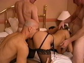 2 Girls 69 as their boyfriends jerk off