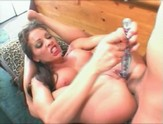 Chick gets a dick up her ass