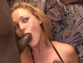 Tight white chicks fuck 2 big black dicks