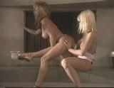 Hot lesbians Shyla & Devin toying