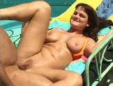 Kami Andrews buttfucked by the pool