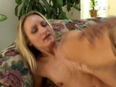 Blonde Cowgirl Jasmine Lynn Sucks And Rides A Black Cock Before Taking It In Her Ass