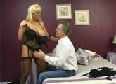Blonde mature gets fucked hard.
