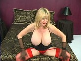 Patty Plenty Please! MILF with Big Tits using a Dildo