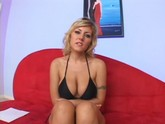 Big titted blonde Velicity Von gets her asshole gaped