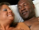 Big tit white chick get fucked silly by big black dick