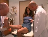 Dr Dick examine Mia Domore