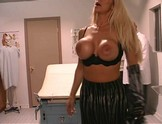 Dr. Dick Tricks Chick into fucking him for bigger tits