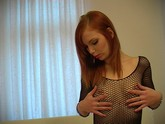 Small Tit Redhead Solo Masturbation
