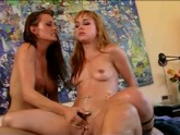 Venus and Cytherea hot threesome