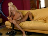 Hot blondie gets fucked hard