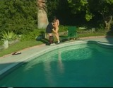 Angelica Sin Gets Nailed By The Pool