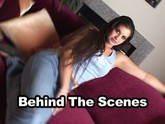 Hot brunette coed gets fucked on camera