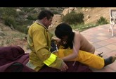 Sexy Smoking Latina Learns a Lesson About Fire Safety