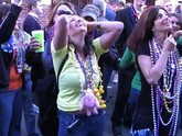 Hot college girls show their tits for mardi gras beads