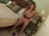 the gorgeous Lisa Daniels does her sexy dance