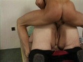 Ugly old BBW gets her pussy pounded
