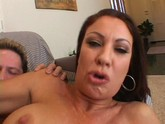 Big boobed milf Vanessa Videl riding big cock