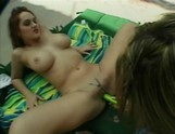 Kianna and Kylie hook it up by the pool