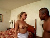 black couple fuck in hotel room