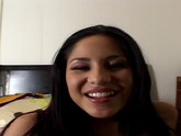 Latina girl enjoys a hard cock POV style