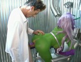 Alien porn stars fuck the scientist