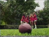 """Alyssa Allure, Gina Ryder, Gwen Summers & Raquel Devine are hot lesbian football players"""