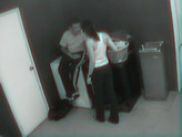 Young Couple Having Sex while Doing Laundry