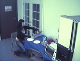 hidden cam catches girl playing with dildo and masturbating