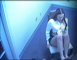 Foot Fucking Fun for this Amateur Couple Caught on Security Cam