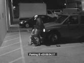 Security Guard Gets Blowjob in Parking Lot