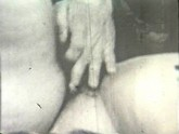 Vintage girl gets her hairy pussy drilled