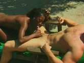 Negro girl enjoyed by white guy
